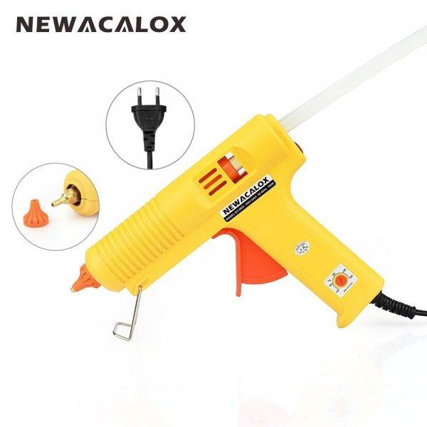 Компактный клеевой пистолет Newacalox (150 Вт, 140 °~ 240 °, стержни 7-11 мм)