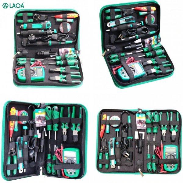 Набор ручных инструментов для электрика от LAOA