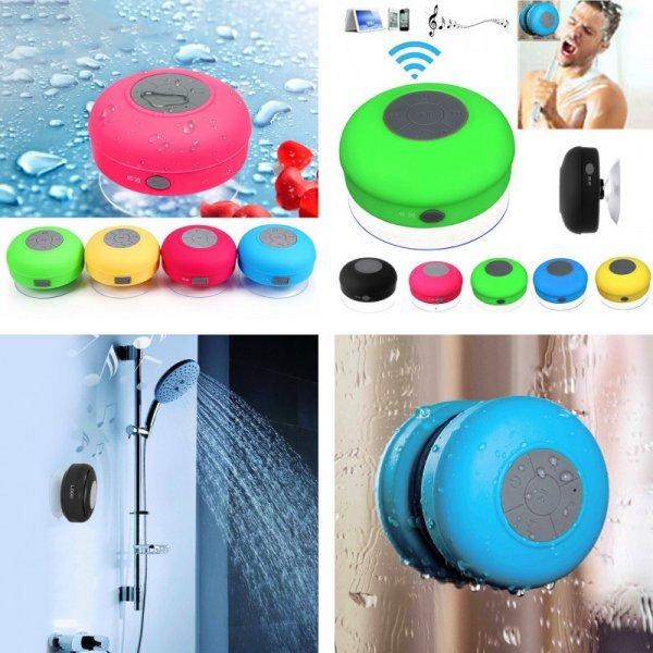 Мини Bluetooth динамик на присоске для ванной от SSDFLY (6 цветов)