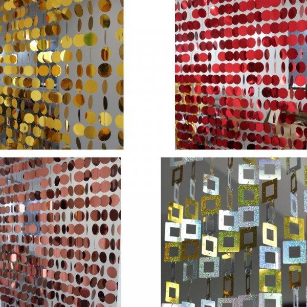 Декоративные занавески для интерьера от FAWNUOS (15 цветов)