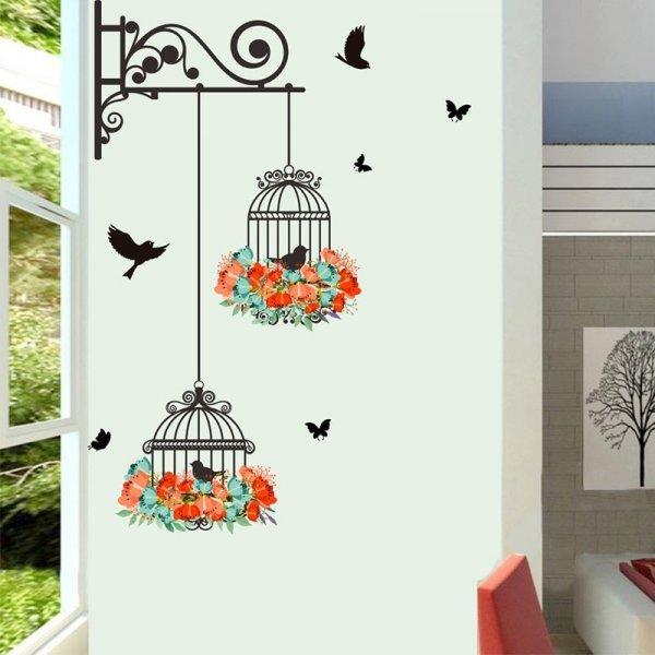 Декоративные стикеры Птицы (25*70 см)