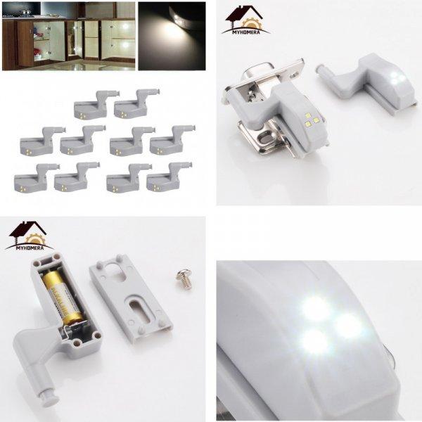Светодиодный светильник для мебельных петель от MYHOMERA (10 шт)