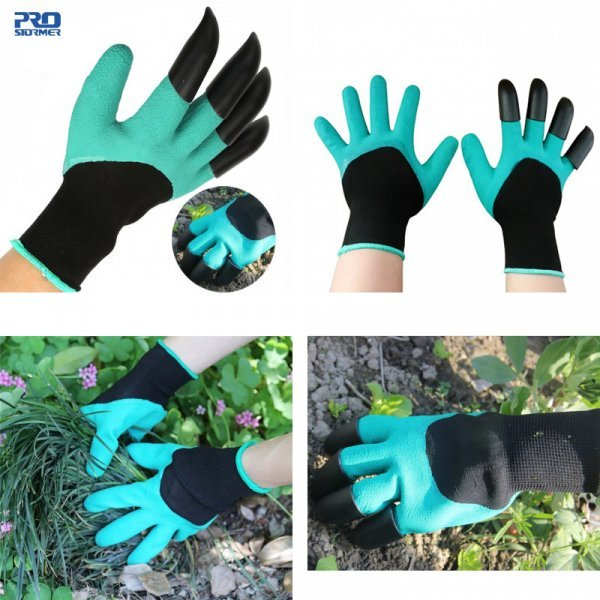 Супер перчатки для работ с землей Prostormer