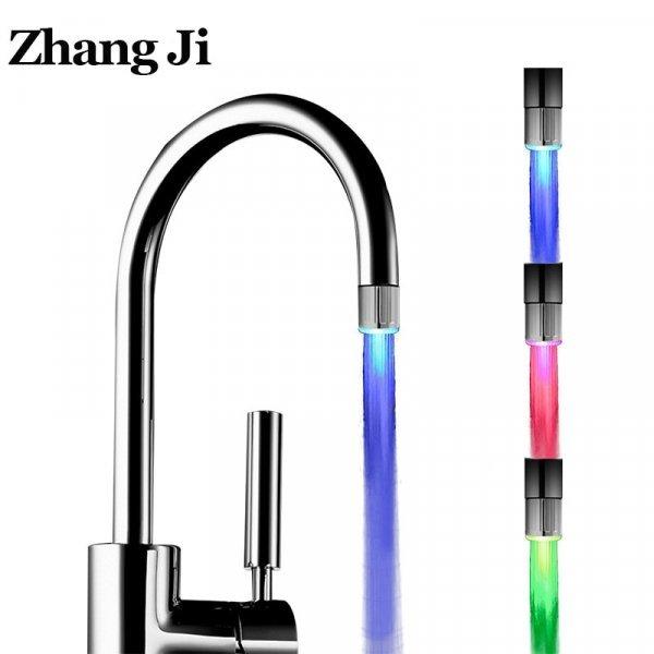 Аэратор на кухонный смеситель с подсветкой  Zhang Ji