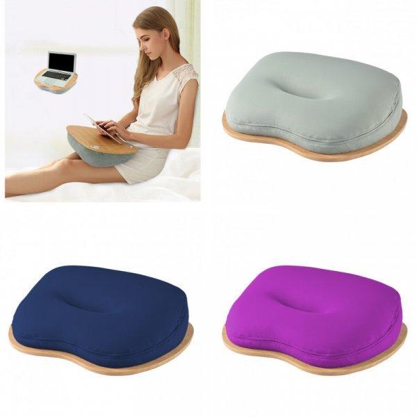Мини столик для ноутбука LEHUOSHIGUANG с подушкой (8 цветов)