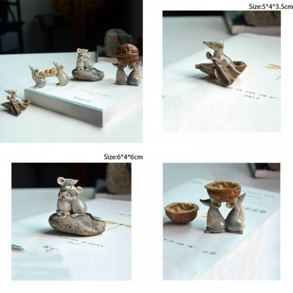 Милые статуэтки от KXIHIDZ (4 вида)