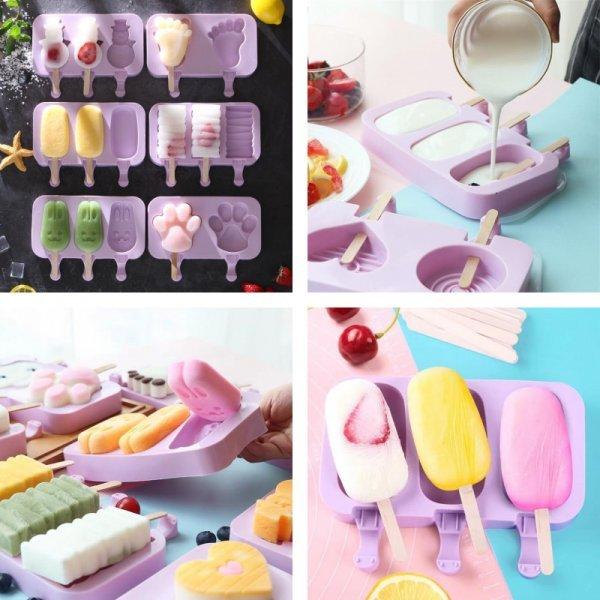 Смешные формочки для мороженого