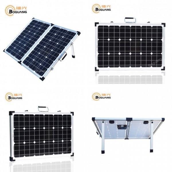 Раскладная мощная солнечная батарея BOGUANG (120 Вт, 18 В)