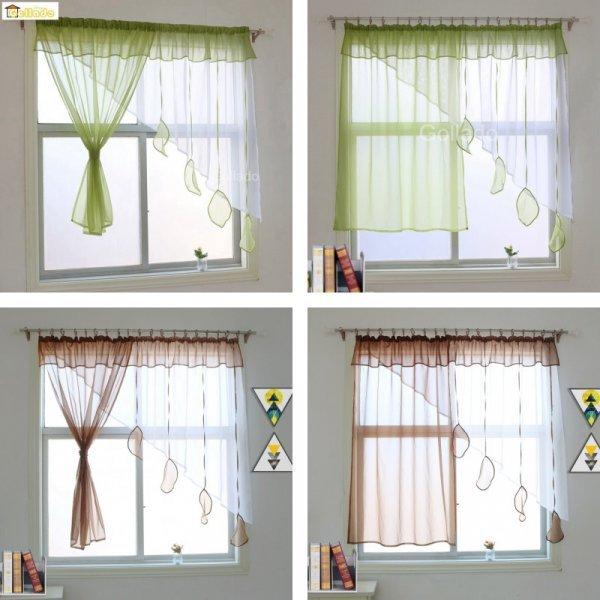 Асимметричные шторки от GOLLADO (2 цвета, 5 размеров)