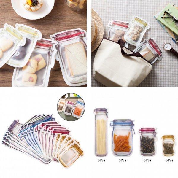 Многоразовые мешки для продуктов от LMETJMA (5 комплектаций)