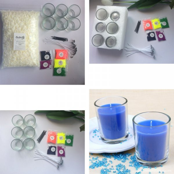 Компелект для изготовления свечей от свечей CHUANGGE