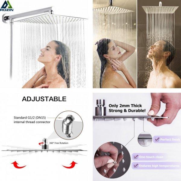 Шикарный душ Rozin (6 размеров)