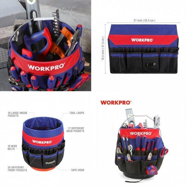 Органайзер на ведро от Workpro