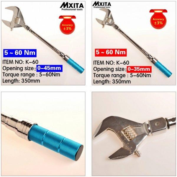 Разводной гаечный ключ от MXITA (2 размера)