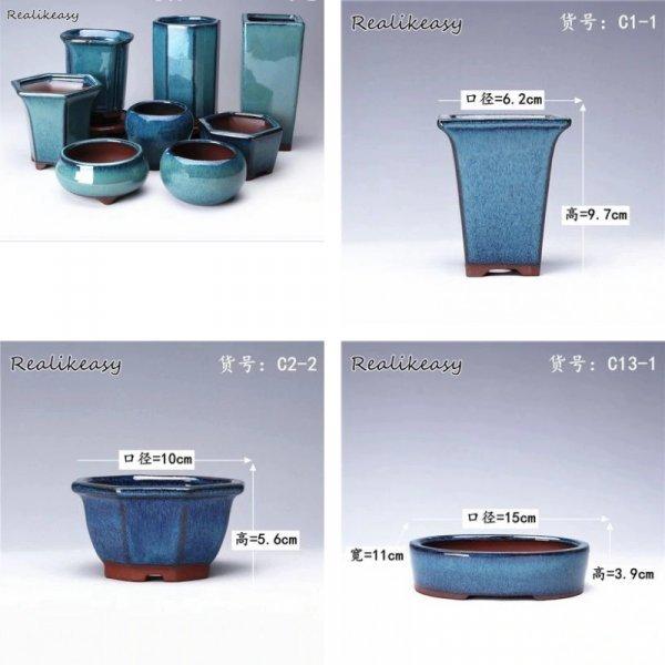 Керамические горшочки для суккулентов