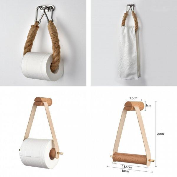 Винтажный держатель для туалетной бумаги (2 вида)