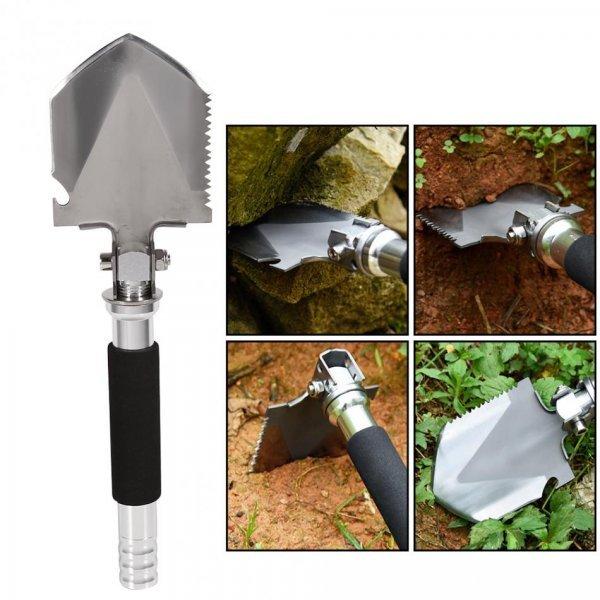 Идеальная лопата для дачи WALFRONT 2 в 1 ( 11,5*9 см, длина - 35 см)