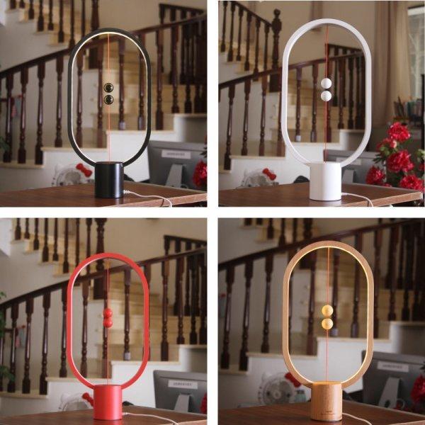 Чумовая настольная лампа, работающая от магнитов HZFCEW (4 цвета)