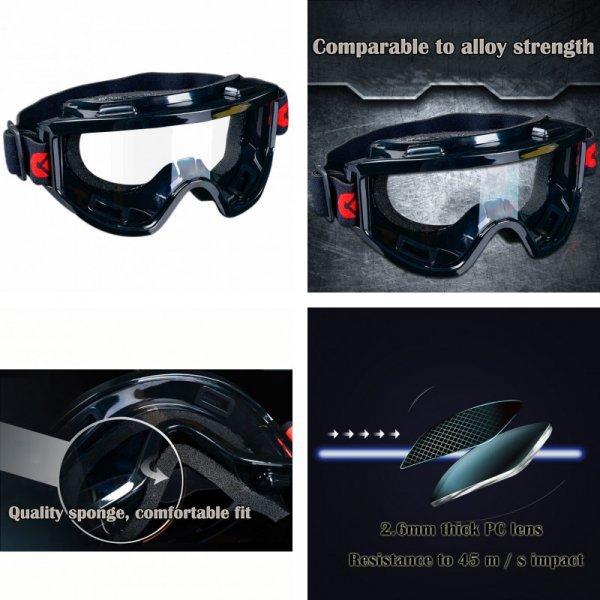 Пылезащитные очки от CK TECH