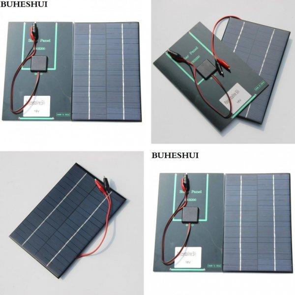 Недорогая качественная солнечная панель Buheshui (4.2 Вт, 18 В)
