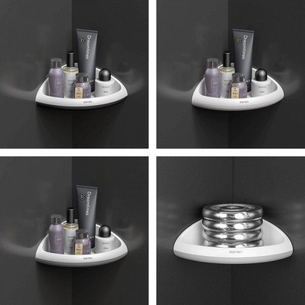 Угловая полка для ванной