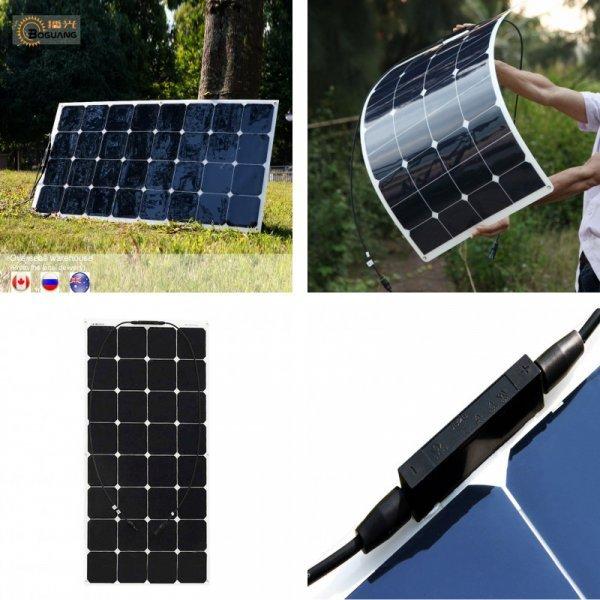 Мощная солнечная батарея Boguang (100 Вт, 17,6 В)