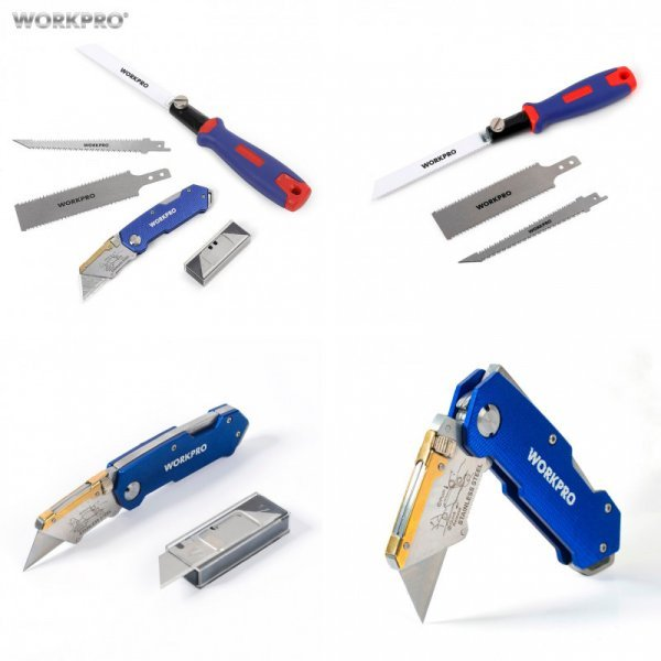 Нож WORKPRO 3 в 1 - мечта ремонтника