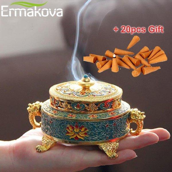 Курильница в тибетском стиле от ERMAKOVA