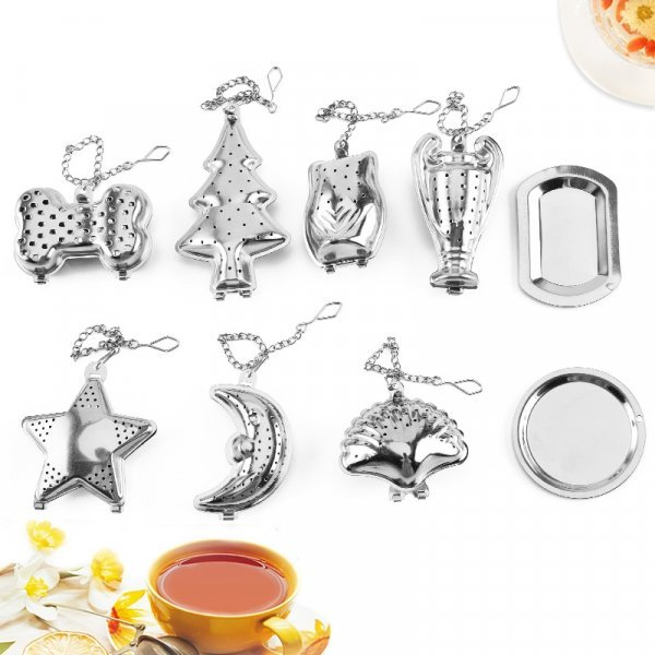 Ситечко для заварки чая от LNRRABC (13 видов)
