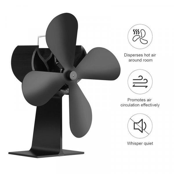 4-лопастной вентилятор от STONE FAN