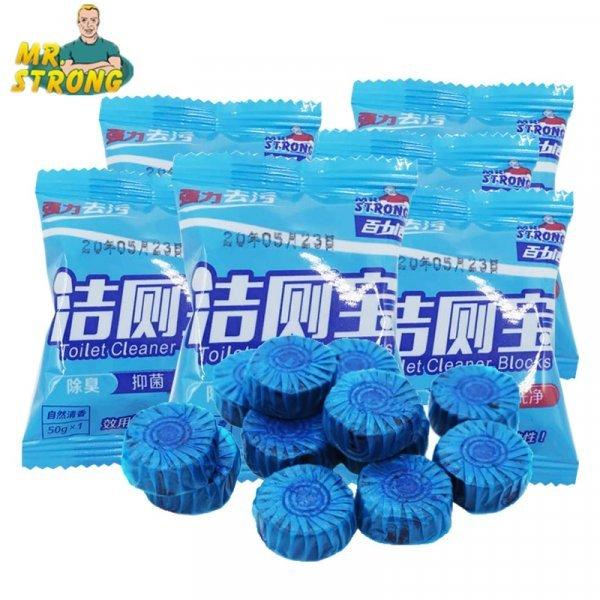 Чистящее средство для унитаза  от MR.STRONG (20 шт)