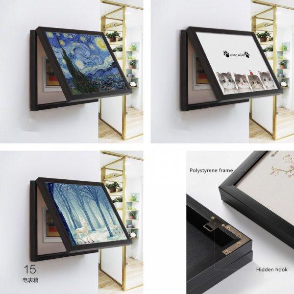 Декоративный ящик для электрощитка от THINK THINGS (14 видов)