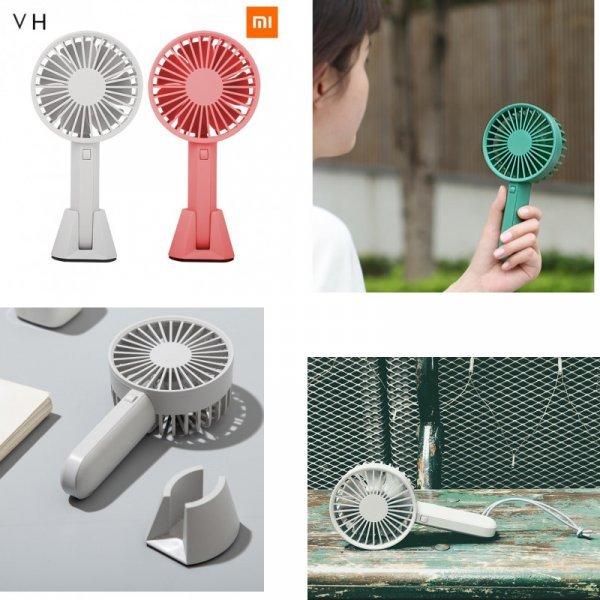 Мощный ручной вентилятор Xiaomi Mijia VH (5 цветов, 4 ч без USB-зарядки)