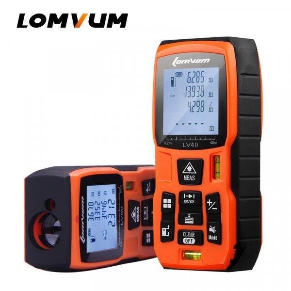 Лазерный  цифровой дальномер от LOMVUM (6 видов)