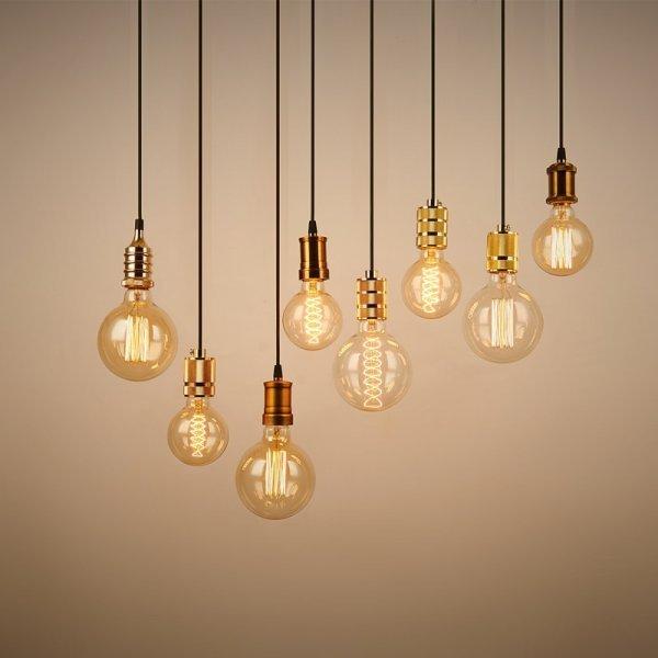 Винтажные серебряные и золотые светильники BVLAMSSI