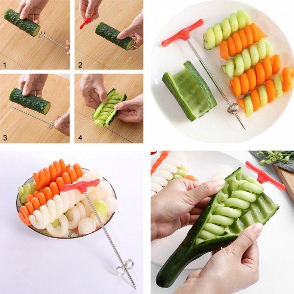 Спиральный нож для овощей