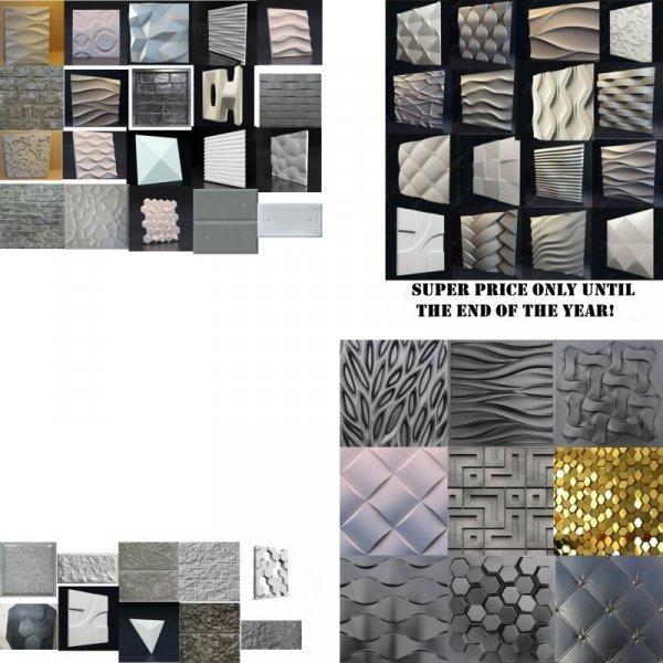 3D пластиковые формы от IHOME ART (25 видов)