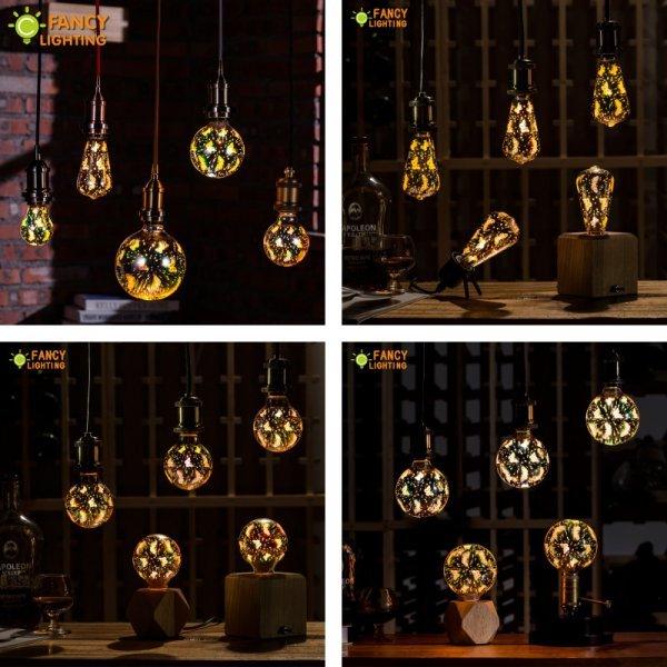 Светодиодные лампочки с бабочками от FANCYLIGHTING (Е-27, 4 W)