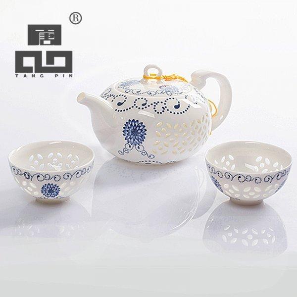Изысканный фарфоровый чайный набор от TANGPIN (5 видов)
