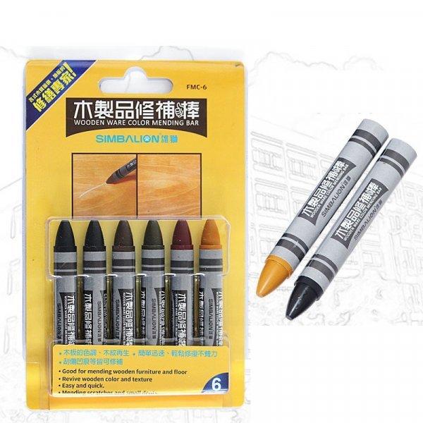 Восковый карандаш  от SIMBALION (набор 6 цветов)