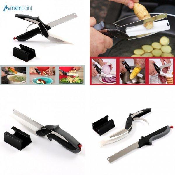 Ножницы для нарезки овощей и фруктов Mainpoint 2 в 1 - вещь