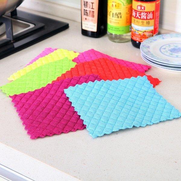 Салфетки для мытья посуды и поверхностей ETya
