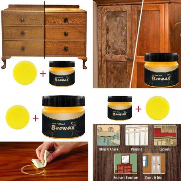 Воск для полировки деревянных поверхностей