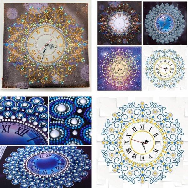Настенные часы (4 вида)