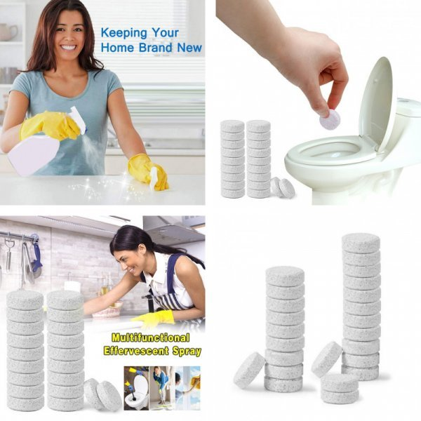 Таблетки для сантехники (10 шт)