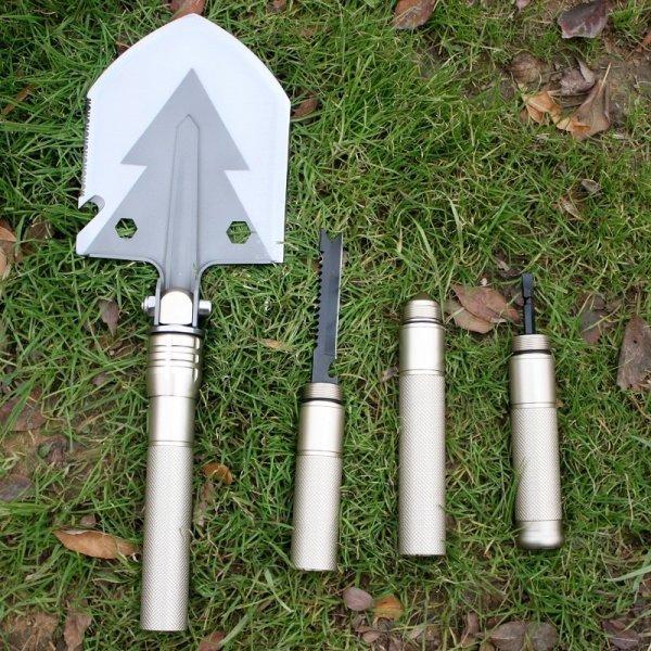 Складная лопата SPLITMAN 2 в 1 с сумкой для переноски (740*130 мм)