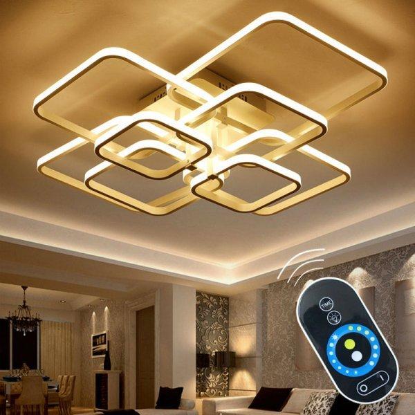 Современный LED светильник OKUDO с пультом д/у