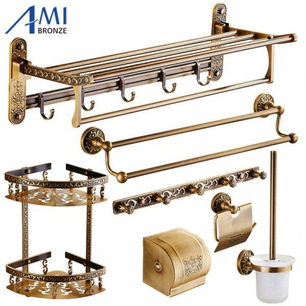 Различные аксессуары для ванной от AMIBRONZE (в ассортименте)