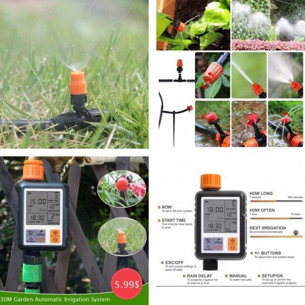 Автоматический ирригационный набор для сада