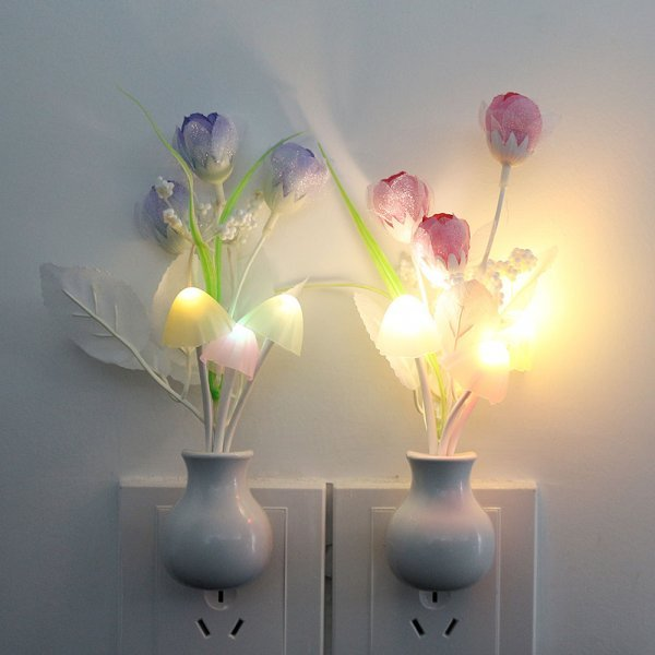Оригинальный ночник Цветы  от Tanbaby